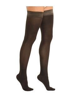 Marilyn 70 Opaque Support Hold-Ups » £21.50 - Solidea Style 26470 - Support Thigh Highs from Pebble UK